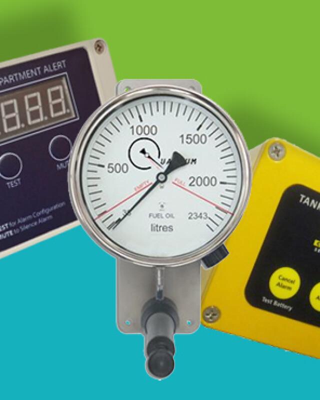 AdBlue Gauges & Alarms header
