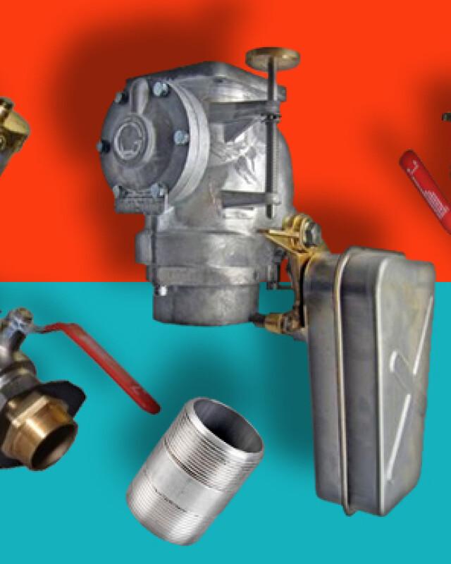 Oil Fill Point Equipment header
