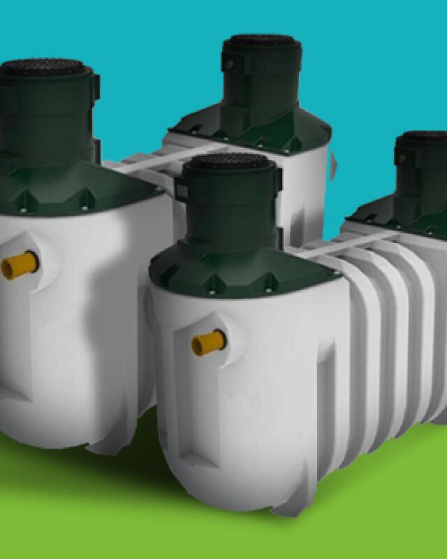 Sewage Treatment Tanks header